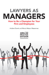 Lawyers as Managers front cover